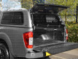 Open rear tailgate of the Carryboy Leisure and Navara NP300