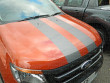 2012 On Ford Ranger Mk5 Cobra Style Twin Stripes-1