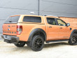 Ford Ranger double cab pickup with pop out windowed leisure hard top