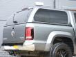 VW Amarok Pickup Aeroklas Hardtop With Window Sides - Rear Corner View