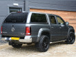 VW Amarok Pickup Double Cab Aeroklas Top Lid Canopy With Window Sides
