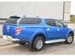 Alpha Type-E canopy fitted to a Mitsubishi L200 double cab