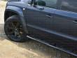 Matte Black Hawke Alloys on VW Amarok
