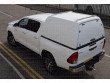 High roof blank side truck top for the Toyota Hilux