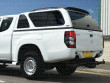 Mitsubishi L200 2015 on Extra Cab Carryboy Leisure canopy in W32 White
