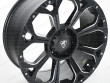 20 Inch aggressive alloy wheel in Matt Black