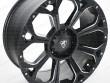 20 Inch aggressive alloy wheel in Matt Black