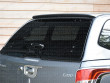 Glass tailgate of the Aeroklas Hard top
