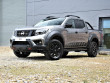 Nissan Navara NP300 fitted with black alloy wheels and front bumper