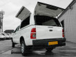 Toyota Hilux Gullwing Hard Top Open Side And Rear Access Doors -  View From Below