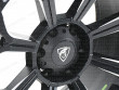Predator badge on the Matt black alloy wheel