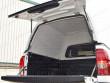Blank sided hard top with solid bulkhead