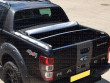 Rolled up tonneau cover fitted to a Ford Ranger Wildtrak
