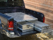 Aluminium toolbox with twin drawer storage system