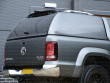 VW Amarok Carryboy Hardtop Commercial Canopy Blank Sides - Rear Corner View From Below