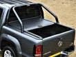 VW Amarok Mountain Top Roll - Black Roller Shutter