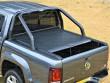 VW Amarok Black Roller Shutter