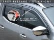 3M self-adhesive installation wind deflectors, Ford Ranger 06-12