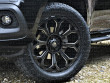 Lustrous gloss black Predator Coyote alloy wheels for the Mercedes X-Class