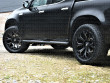 20 inch Predator alloy wheels in lustrous gloss black for the Mercedes X-Class