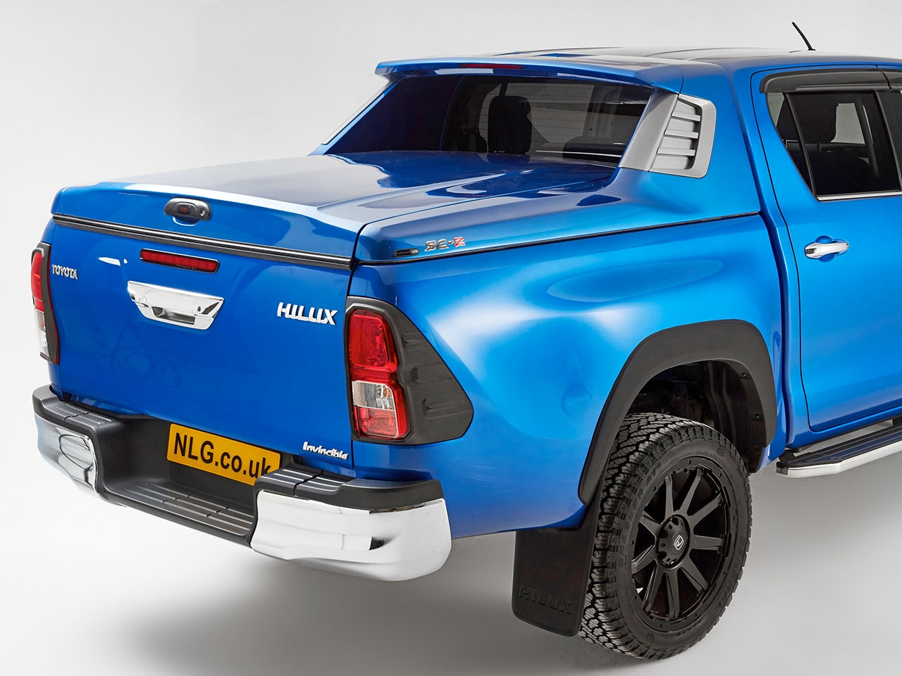 2016 On Toyota Hilux Alpha Sc Z Tonneau Cover 4x4 Accessories Tyres Wiring Diagram Stereo Further Radio Nissan Navara