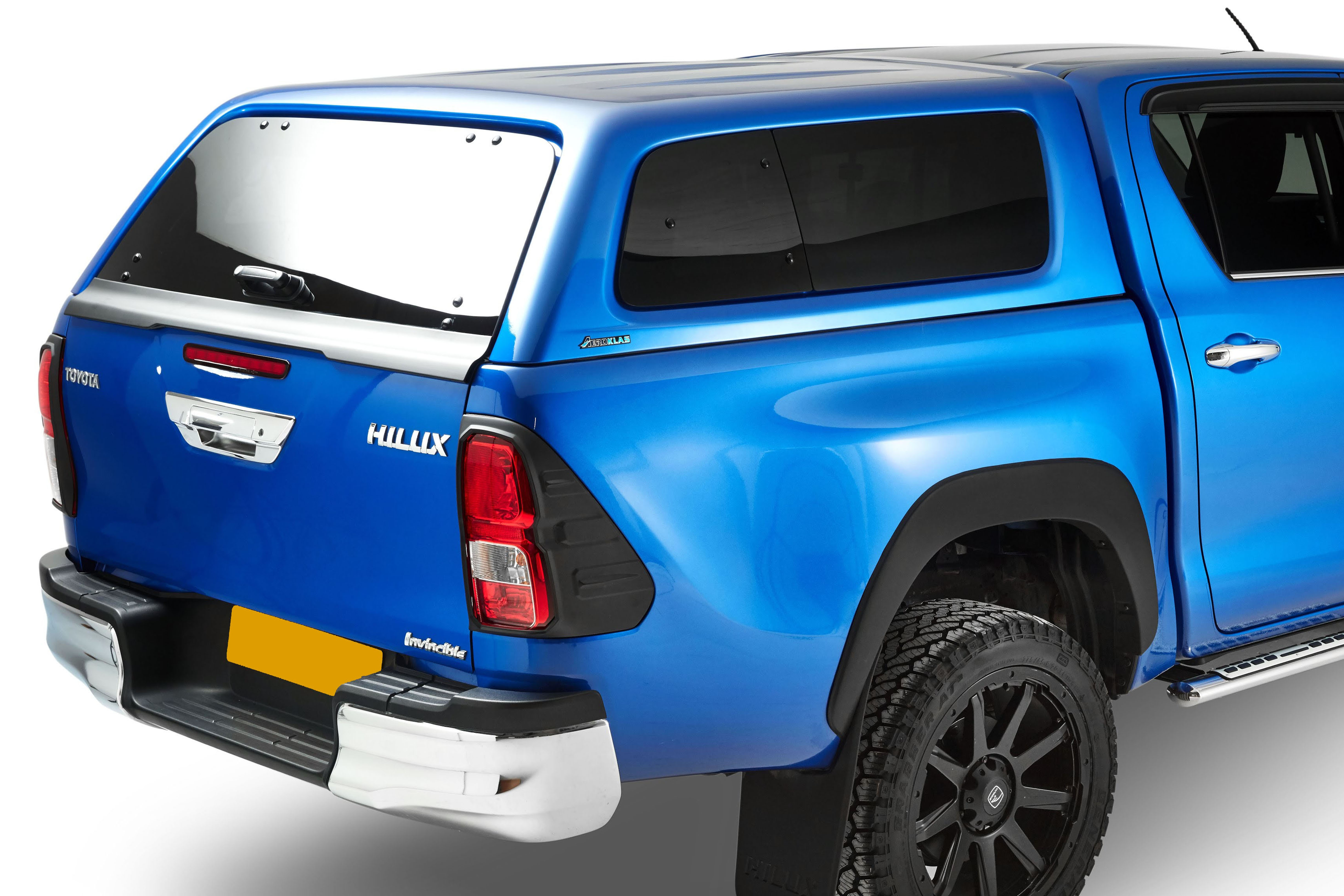 Toyota Hilux Aeroklas Pop Out Windows Truck Top - 4x4