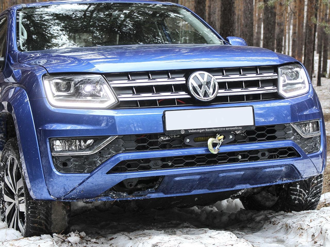 VW Amarok Hidden Recovery Winch Bumper - 4x4 Accessories & Tyres