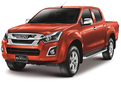 Isuzu D-Max 2017 Double Cab Accessories