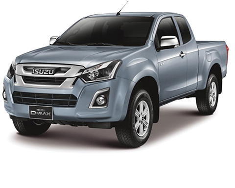 Isuzu D-Max 2017 Extra Cab Accessories