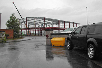 4x4AT Meridian Park Warehouse And Showroom Construction in August 2006
