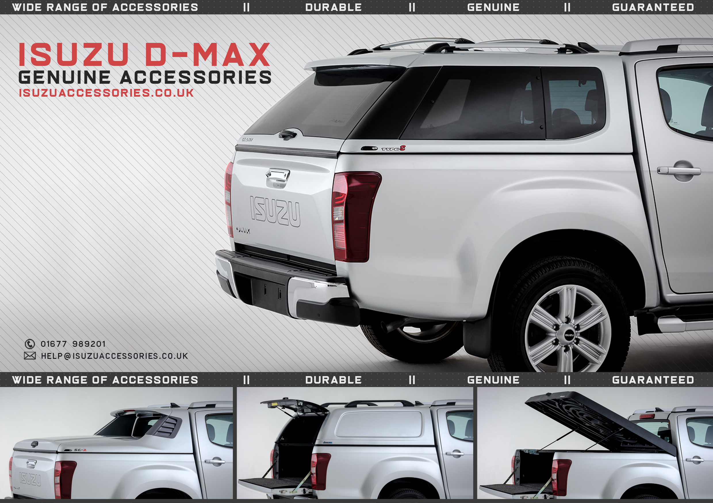 Isuzu D-Max Accessories - Brochure Download