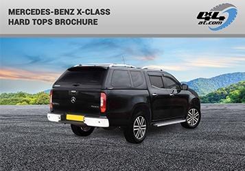 Mercedes-Benz X-Class Hard Tops - Brochure Downloads