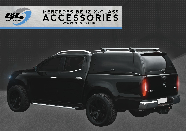 Mercedes-Benz X-Class Accessories Brochure Download