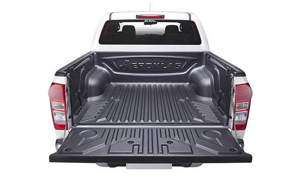 Stylish Over rail bed liner for 4x4 pickup trucks