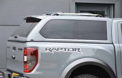 Alpha GSE Hardtop Closeup on a Ranger Raptor
