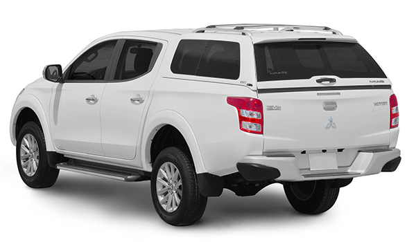 Alpha GSR Canopy on a Mitsubishi L200 White