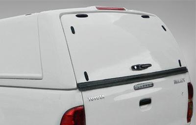 Alpha Gullwing optional solid rear door