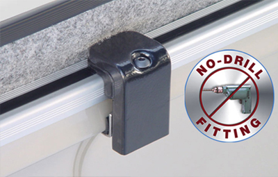 non-drill fitting clamp installation