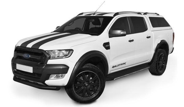 Ford Ranger Pickup Truck with an Alpha Type-E Truck Top Canopy