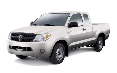 Toyota Hilux Extra Cab 2009 to 2012 Accessories