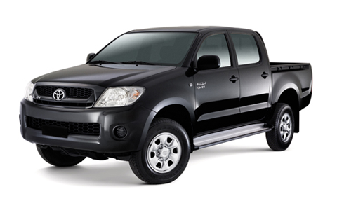 Toyota Hilux 2009 to 2012 Accessories