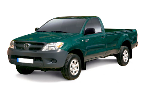 Toyota Hilux Single Cab 2009 to 2012 Accessories
