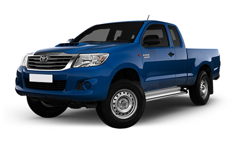 Toyota Hilux Extra Cab 2012 to 2016 Accessories