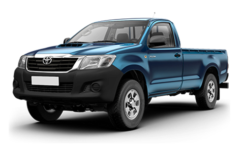 Toyota Hilux Single Cab 2012 to 2016 Accessories