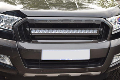 Ford Ranger grill fitted with a Triple R16 kit