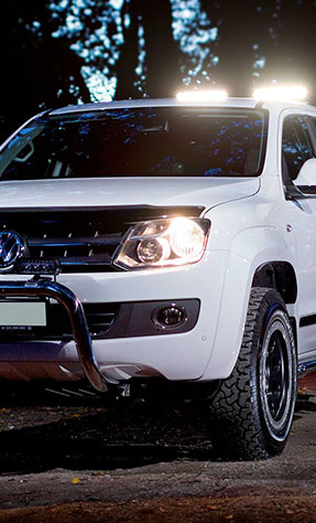 VW Amarok fitted with LED Lazer Lights