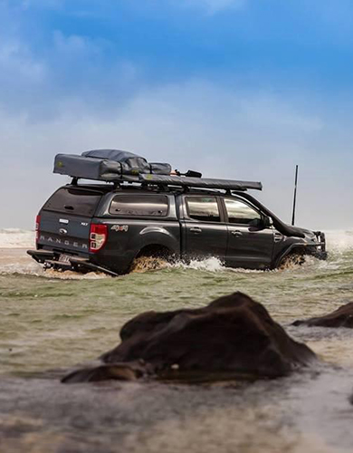 Aeroklas Leisure Truck top on a Ford Ranger