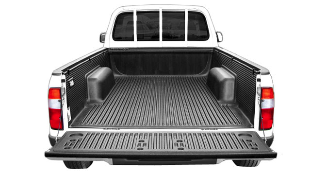 Proform Over rail bed liner with open tailgate