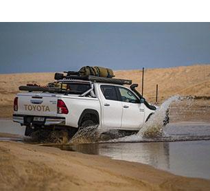 Proform Sportslid on a Toyota Hilux