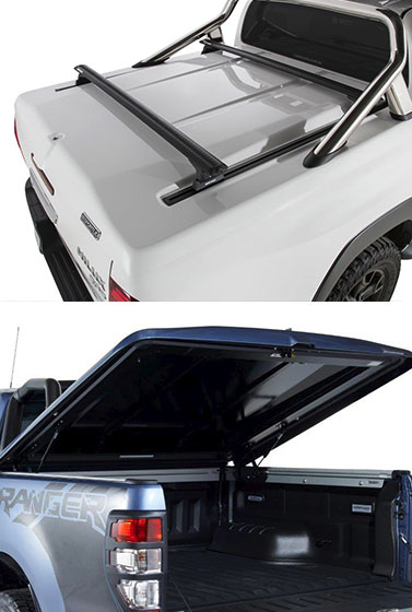 Proform Tango Sports Lid on a Toyota Hilux and a Ford Ranger